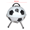 YH22014ZC Mini portable  BBQ Grill with football printing