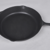 KY15CAST Cast iron cooking plate with handle