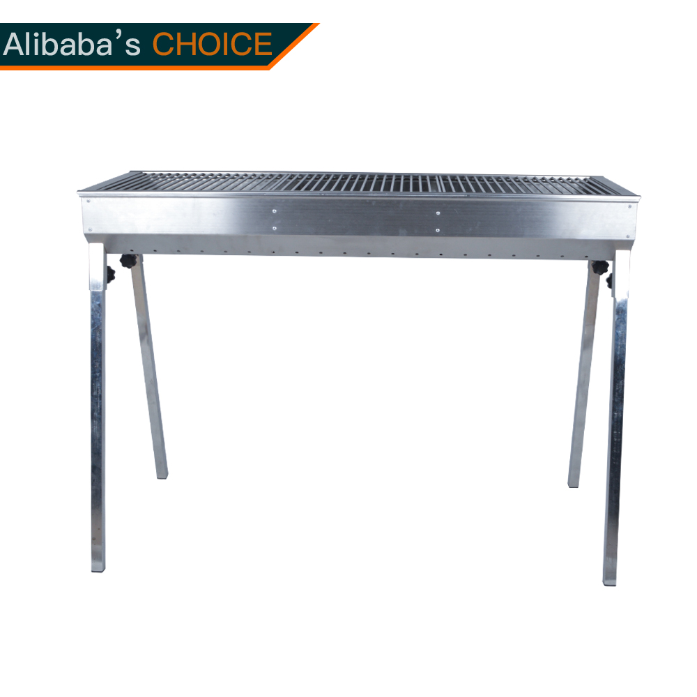 KY1817D Charcoal grill stainless steel grill