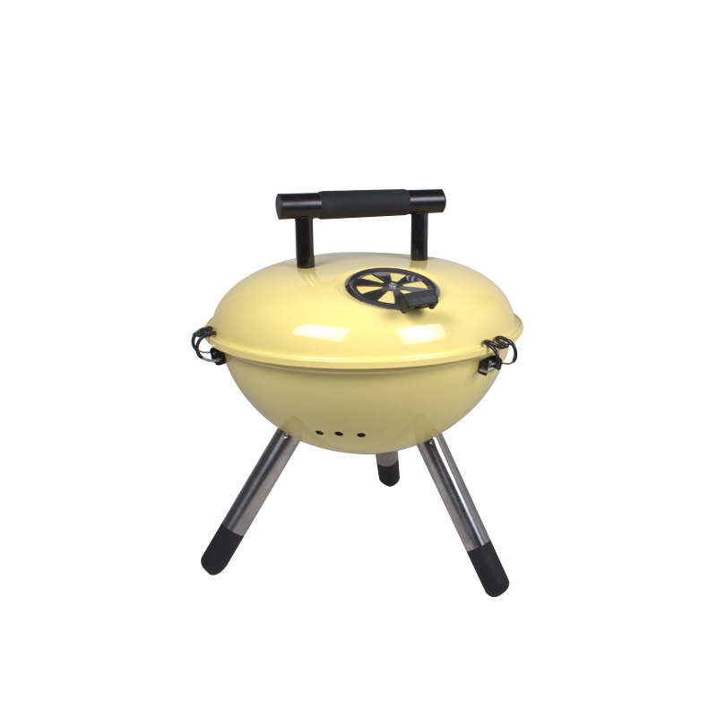 KY22014 Yellow BBQ Grill