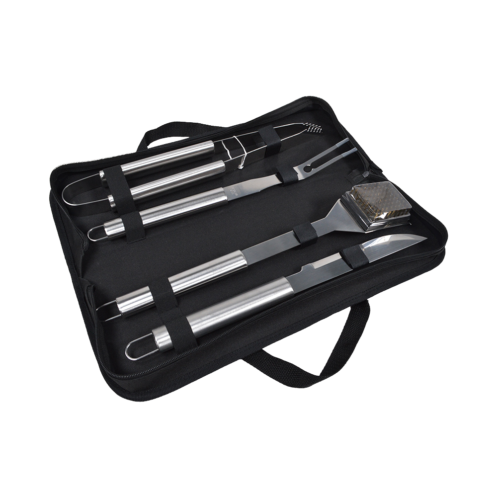 KY04D stainless steel bbq tools set