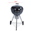 KY22018HE Easy Assembly 18inck Kettle Grill with Ash Catcher
