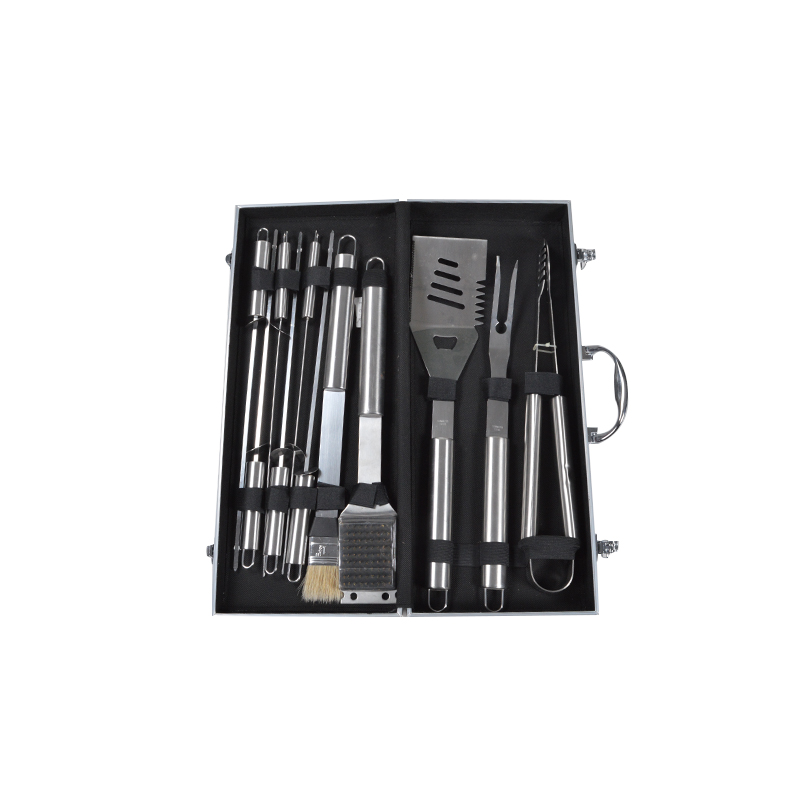 KY9055AZ Barbecue tool set outdoor portable charcoal bbq tool