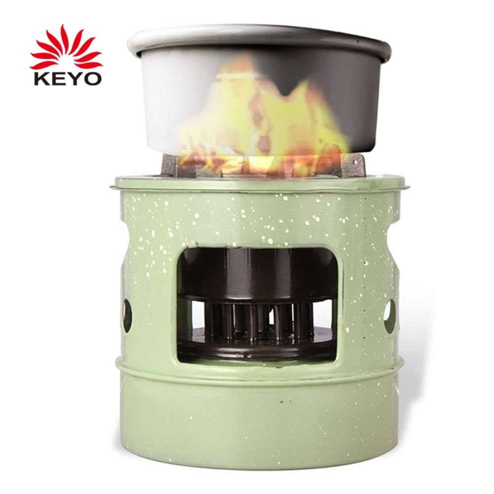 KY33 Metal Fireplace Stove Windproof Kerosene Furnace for Outdoor Camping