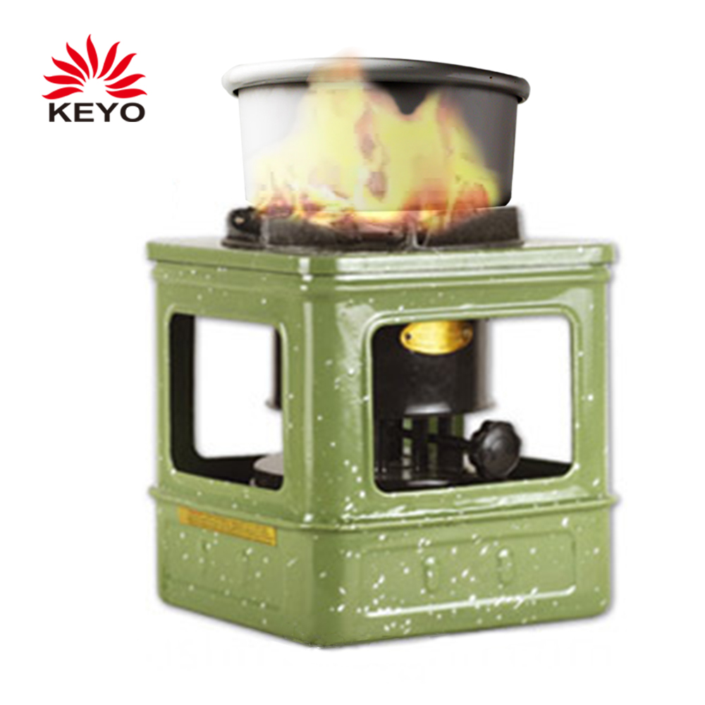 KY641 Camping Stoves Outdoor Mini Portable Kerosene Stoves With 10 Wicks