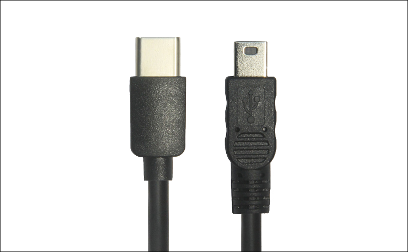 USB C to Mini B Cable