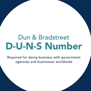 P-SHINE get the D-U-N-S Number!