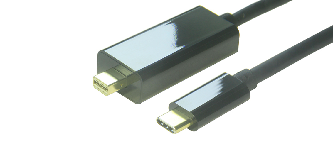 USB 3.1 Type C To Mini DisplayPort Gold-plating 4K*2K@60Hz Cable