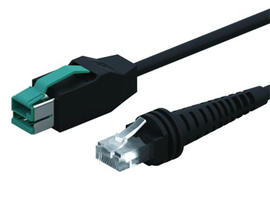 12V Powered USB to RJ45 Cable