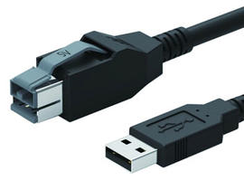 5V Powered USB to USB 2.0 A Cable