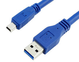 USB 3.0 A to Mini 10Pin Cable