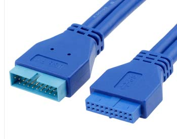 20 PIN Male to Female Extension Cable