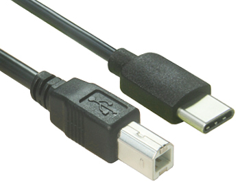 USB C to Type B Cable