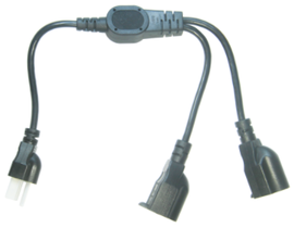 2 in 1 Power Cord