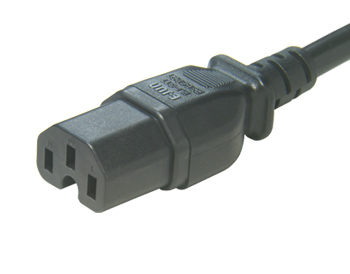 UL&CSA Approved America/Canada IEC C15 Power Cord