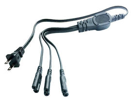 3 in 1 Power Cord