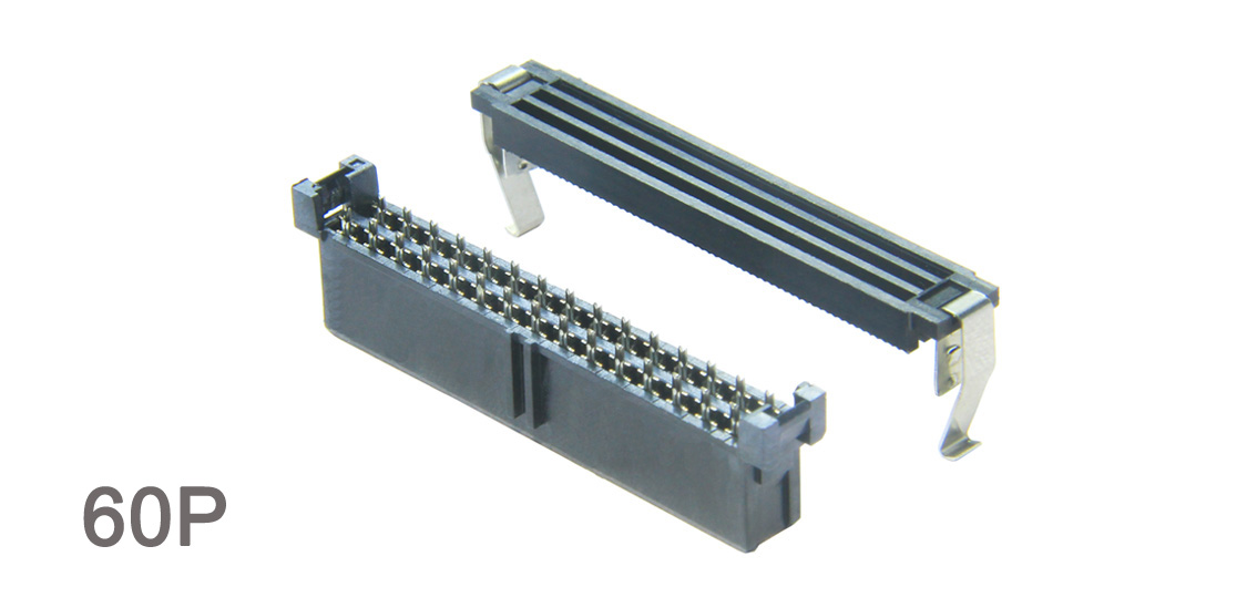 TE AMP-LATCH 1-111196, 2-111196 Cable Assembly 1.27mm (0.05