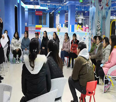Di Le Ni Indoor Children's Park - The first teacher to be a child