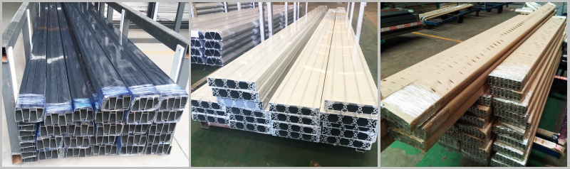 Extruded Aluminum Windows Profiles