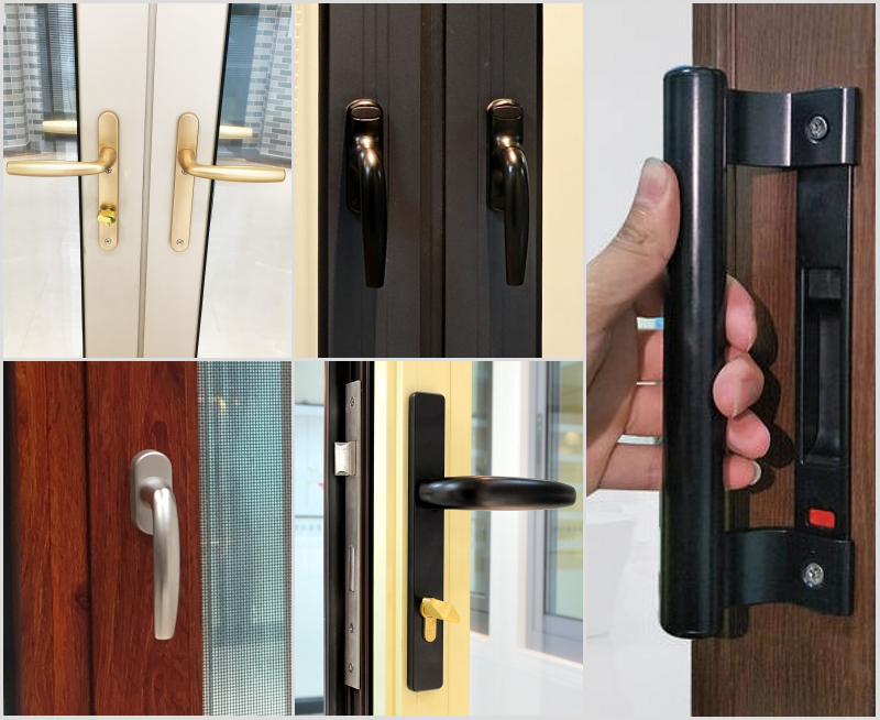 Aluminium Double Side Handles For Casement Door
