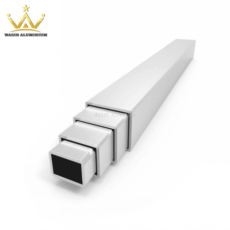 Types Of Aluminium Square Pipe With Difference Surface Color