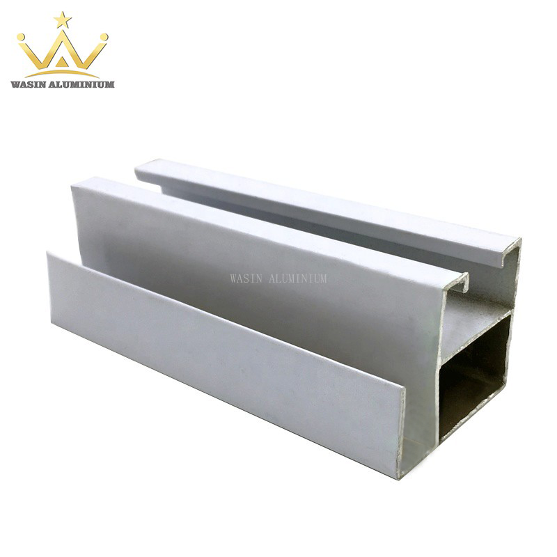 Powder Coated Aluminium Window Section for Asia