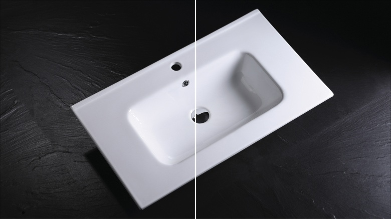 china-Vitreous-china-rectangular-vanity-top