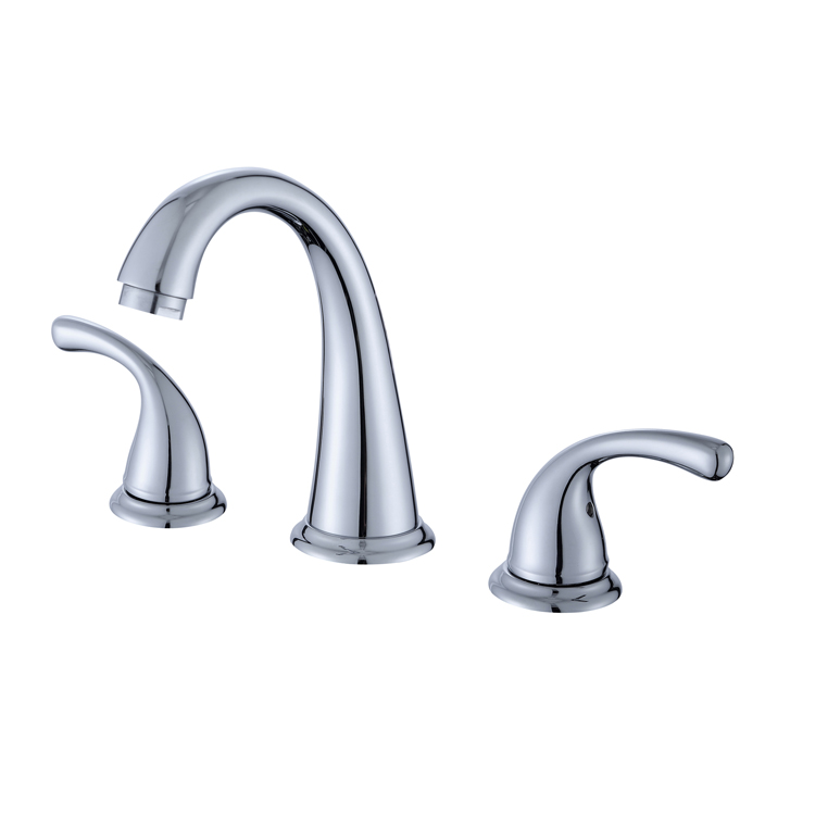 classic-brass-two-handle-widespread-chrome-bathroom-faucet-with-cupc-certification