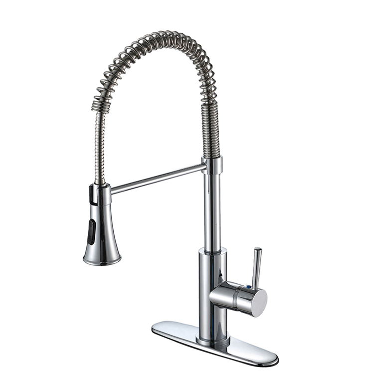 large-size-pull-down-spout-kitchen-sink-water-faucet-with-single-handle