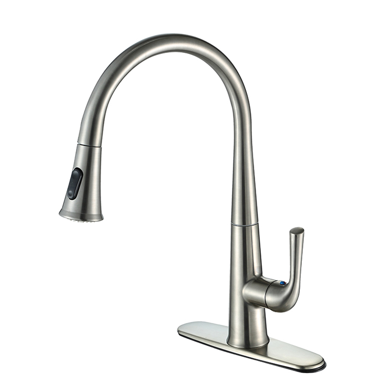 pull-down-spout-all-metal-kitchen-faucets