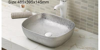 What is the difference between a wash basin counter top and an under basin in a bathroom?