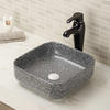 Small Size Vitreous China Pedestal Vessel Sink
