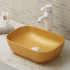 Vessel sink ceramic lavabo with custom made color