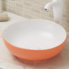 Round counter top bathroom wash basin bowl