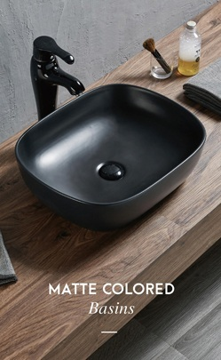 Matt Color wash basin