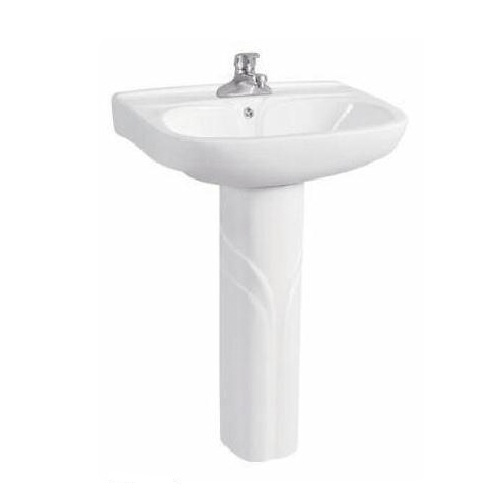 Ceramic Bathroom Sink Stand with Pedistal
