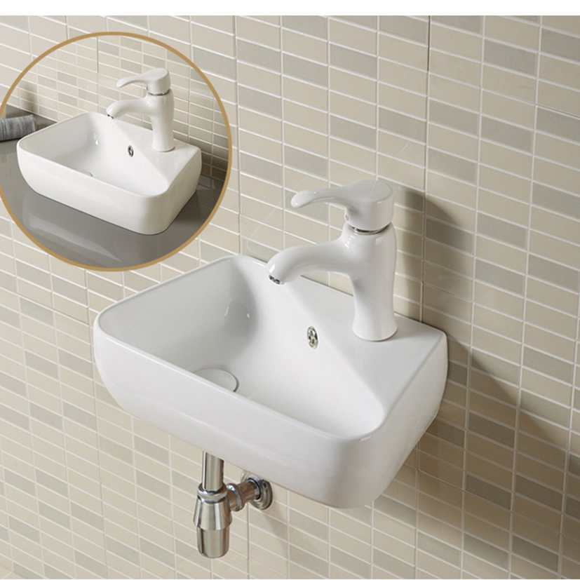Wall-hung and Vessel Modern Bathroom Basin