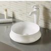 Oval Ceramic Bathroom Sink for Vanity