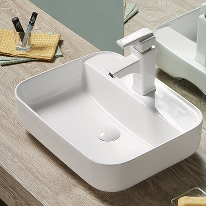 Rectangular Shape Under Counter Wash Basin