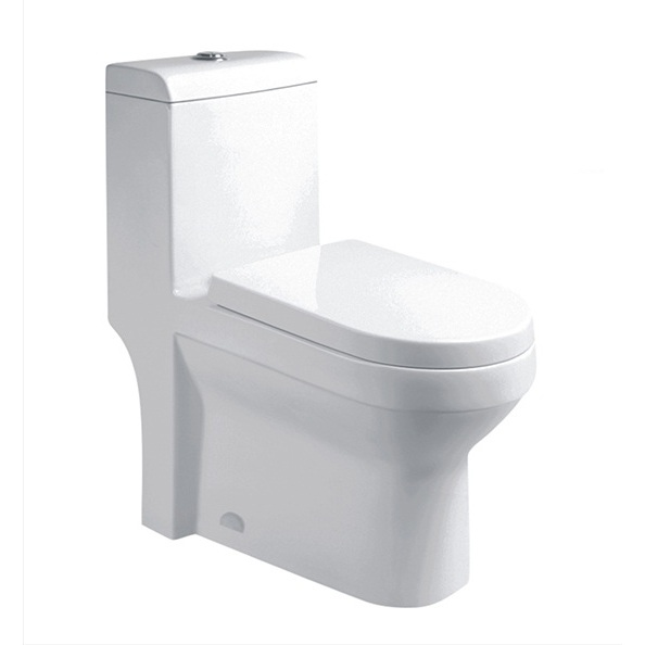 Top Dual-flush Elongated One Piece Bathroom Toilet