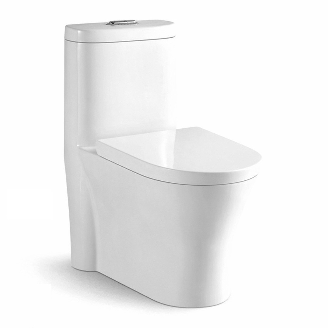 Dual Flush Ceramic Modern One Piece Toilet