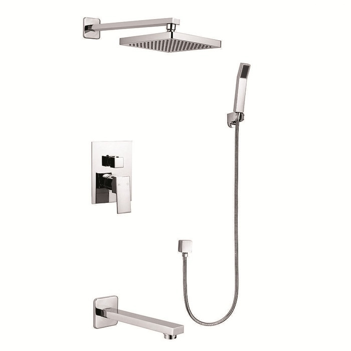 Brass Brushed Nickel Bathroom Taps