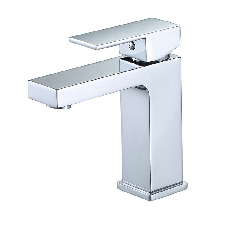 Chrome Single Handle Pull Down Sink Faucet