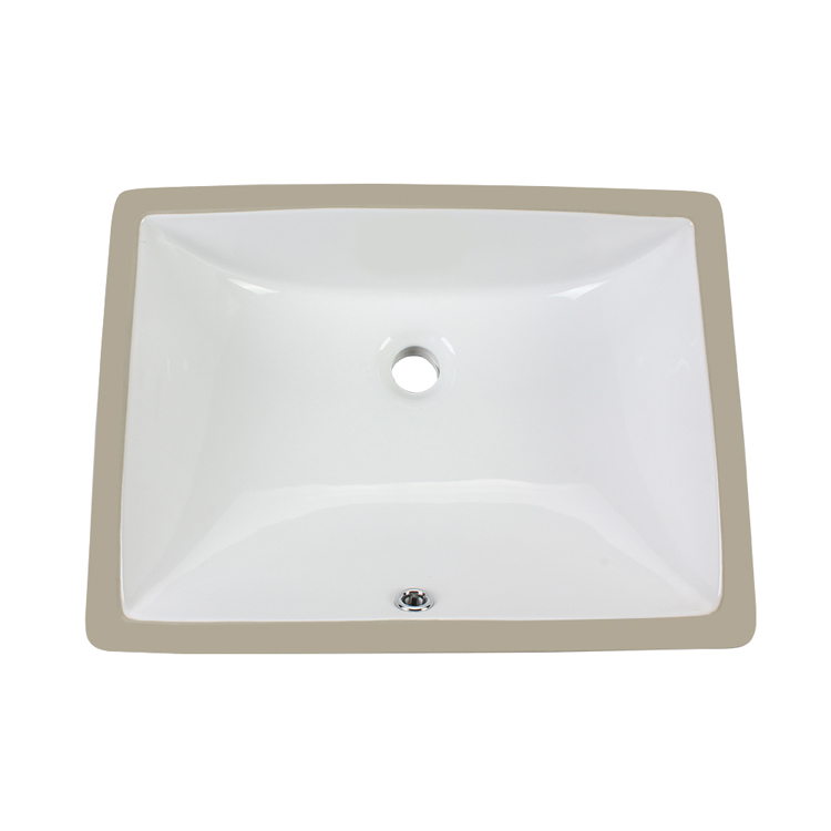 Under-mount Modern Bathroom Sink Bowl