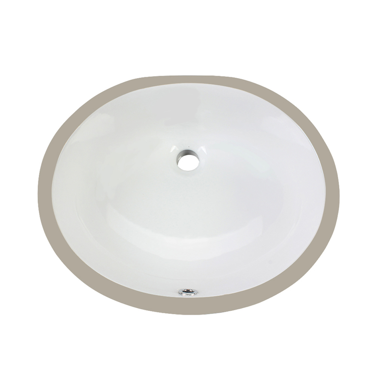 19 Inch CUPC Certification Square Vessel Bathroom Sink