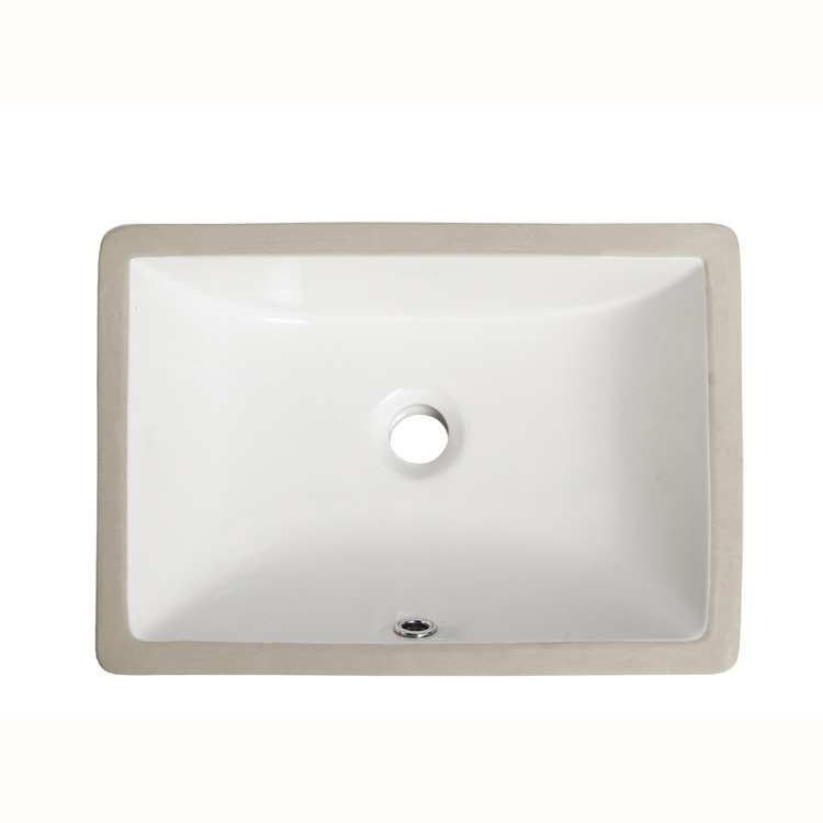 Rectangular Top Mount Vanity Sink