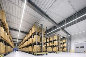 Warehouse solution LED Linear Trunking System