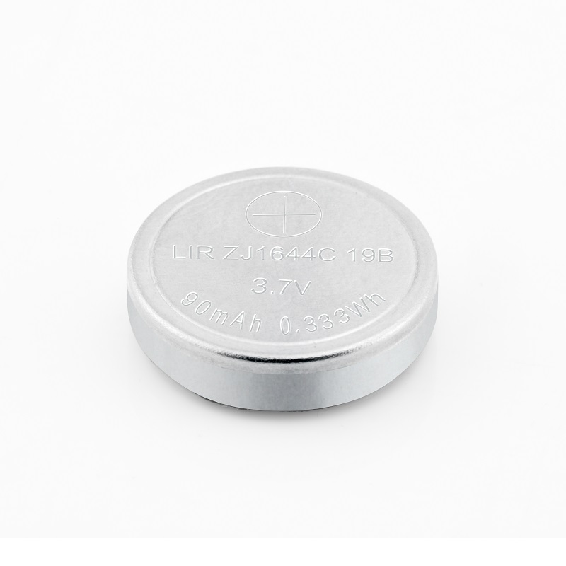 1644C Rechargable Lithium Ion Coin Battery