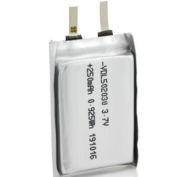 502030 wireless headsets used Li-ion battery