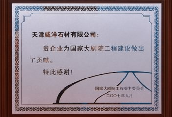 2007 Engineering Construction Contribution Award